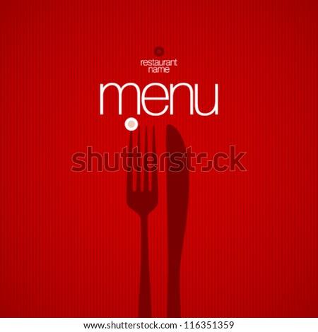 Restaurant Menu Card Design template. - stock vector