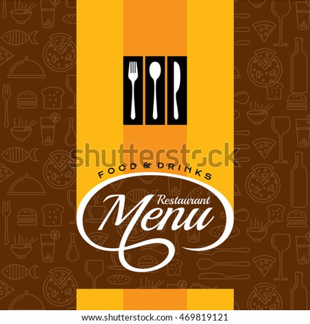 restaurant menu card design templates