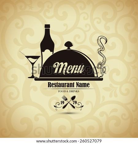 Restaurant menu design. Vector illustration - stock vector