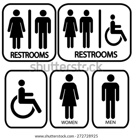 restroom stock images  royalty free images   vectors Ladies Restroom Signs Clip Art Ladies Restroom Signs Clip Art
