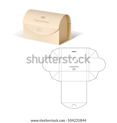 Retail box blueprint template stock vector royalty free 504225844 retail box blueprint template stock vector royalty free 504225844 shutterstock malvernweather Gallery