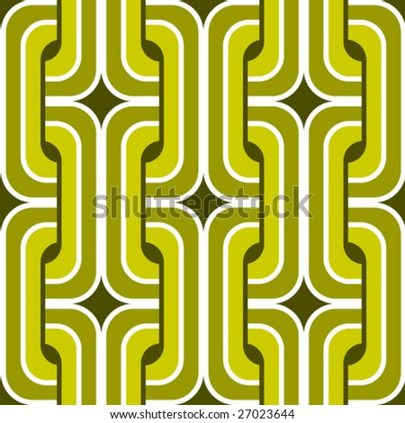 Retro background pattern - stock vector