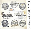 Retro Bakery Badges And Labels - stock vector