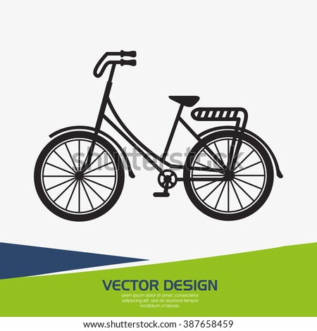 retro bicycle design
