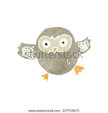 Retro owl cartoon - photo#26