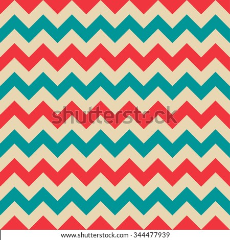 retro chevron pattern background  - stock vector