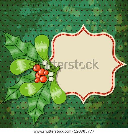 Retro Christmas Design