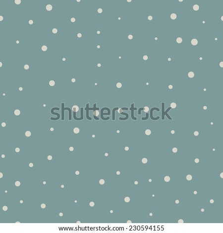 Retro color snowflake seamless pattern. - stock vector