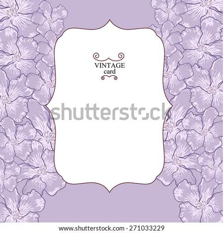 retro flower vertical banners concept. Vector illustration design. eps 10 - stock vector