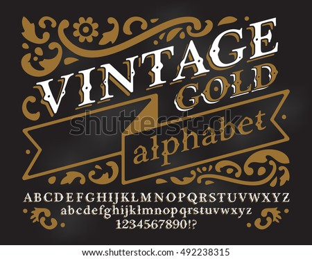 Stock photos royalty free images vectors shutterstock for Classic house number fonts