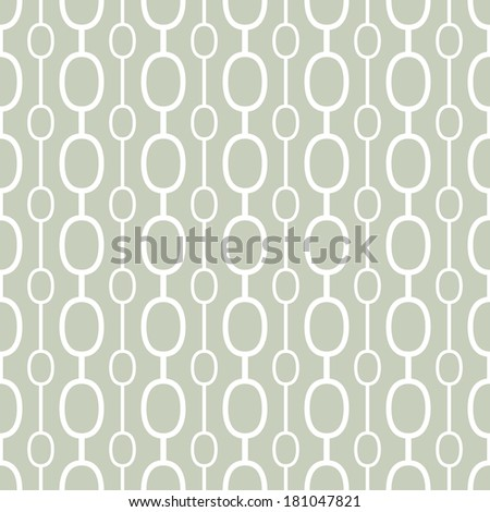 Retro geometric background.  Seamless vector pattern.  - stock vector
