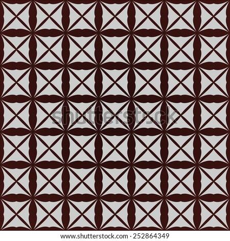 Retro gray brown seamless vector background - stock vector