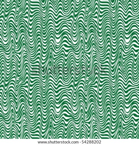 Retro green seamless burst background - stock vector