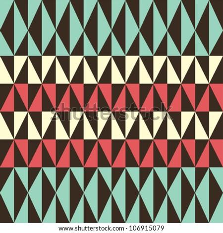 Retro pattern - stock vector