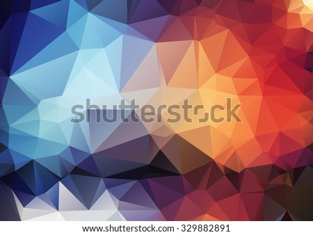 Retro pattern of angular geometric shapes. Geometric retro background with place for your text. hexagram  background. - stock vector