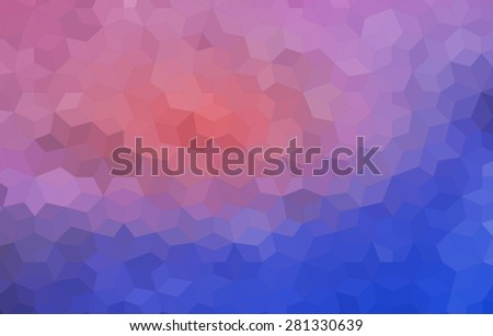 Retro pattern of geometric shapes. Geometric retro background with place for your text. hexagram  background. - stock vector