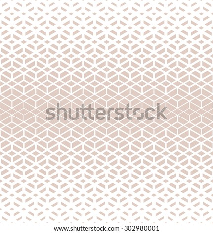 Retro pattern of geometric shapes. Pink mosaic banner. Seamless vector background - stock vector