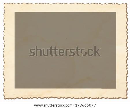Retro photo background. - stock vector