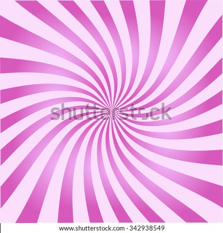 Retro ray background pink color stylish illustration - stock vector