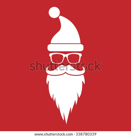 Retro Santa Claus - stock vector
