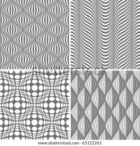 retro seamless pattern - stock vector