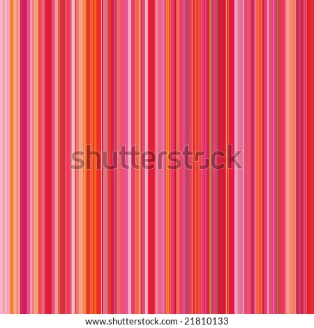 Retro (seamless) stripe pattern with bright red and pink - stock vector