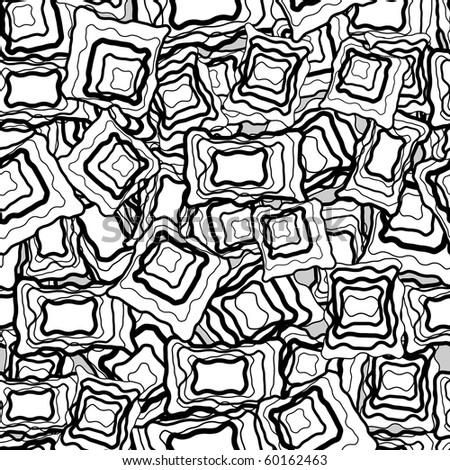 Retro seamless tile. Vector. - stock vector