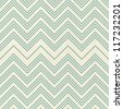 retro seamless zigzag pattern - stock vector