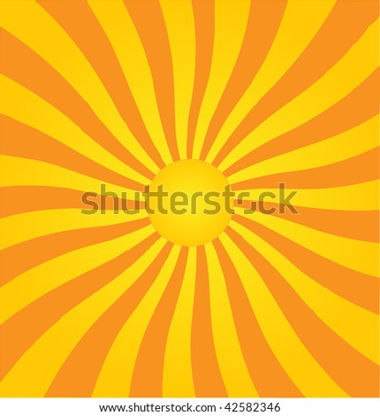 Retro style vector abstract background. - stock vector