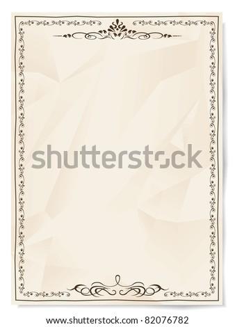 Retro styled background - stock vector