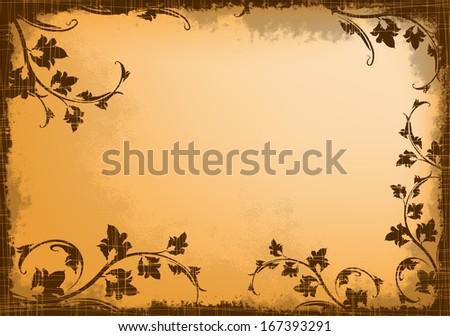 Retro styled background. EPS10  - stock vector