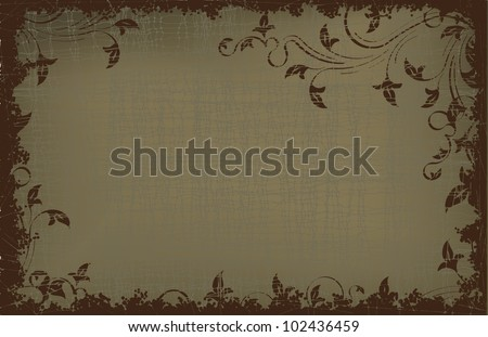 Retro-styled vector background - stock vector