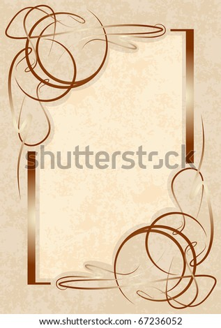 Retro styled vector background. - stock vector
