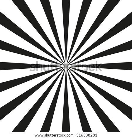 retro sunburst vector background black white stock vector 316338281 rh shutterstock com vector sunburst free vector sunburst photoshop