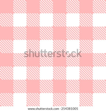 Retro tablecloth texture. - stock vector
