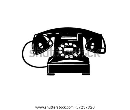 Retro telephone 1 retro clip art stock vector hd royalty free retro telephone 1 retro clip art sciox Gallery