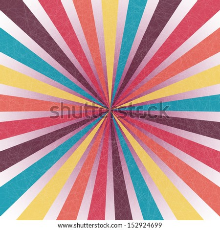 Retro twirl. Vector illustration EPS 10.  - stock vector