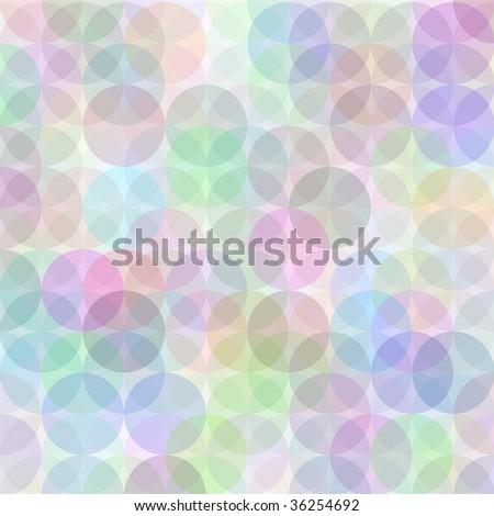 Retro vector multicolored circle pattern - stock vector