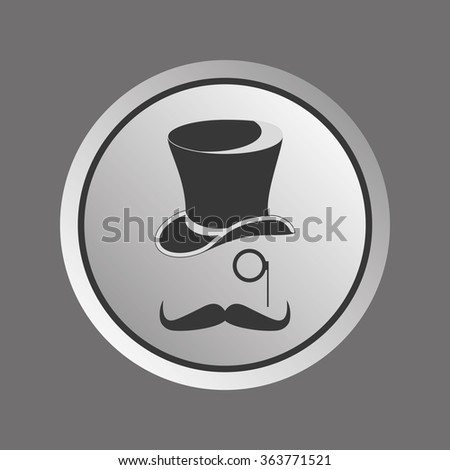 Retro, vintage gentleman accessories. - stock vector