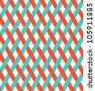 retro wicker pattern (seamless ) - stock vector