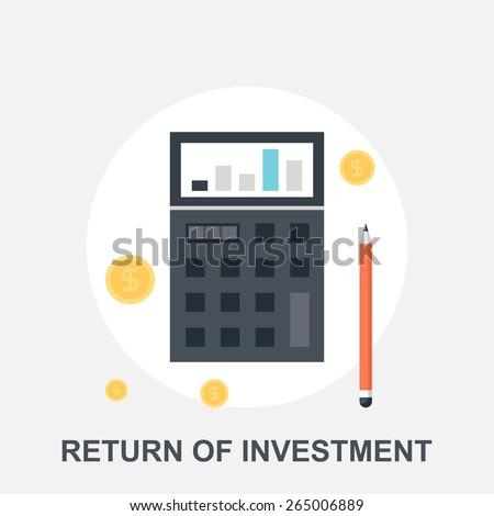 Return of Investment - stock vector