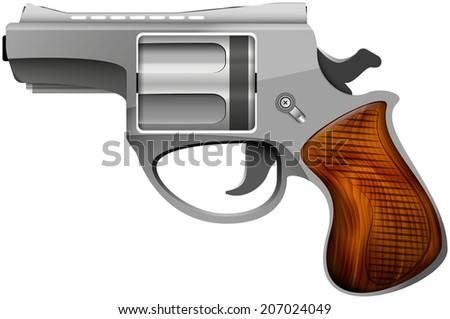 revolver abstract vector illustration isolated eps 10 / revolver - stock vector