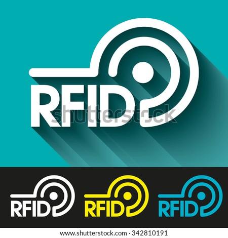 RFID - stock vector