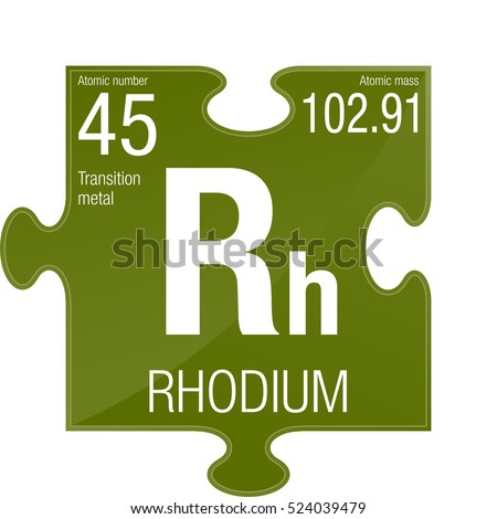 a study on the chemical element rhodium Periodic table of the elements flash cards for learning chemical elements study online or print customize with atomic number, symbol, name, and mass.