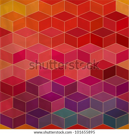 rhombic seamless pattern.Seamless pattern can be used for wallpaper, pattern fills, web page background,surface textures. Spectrum seamless background eps10 - stock vector