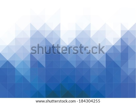 rhombus background - stock vector