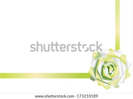 ribbon. - stock vector