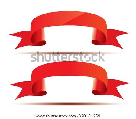 Ribbon - stock vector