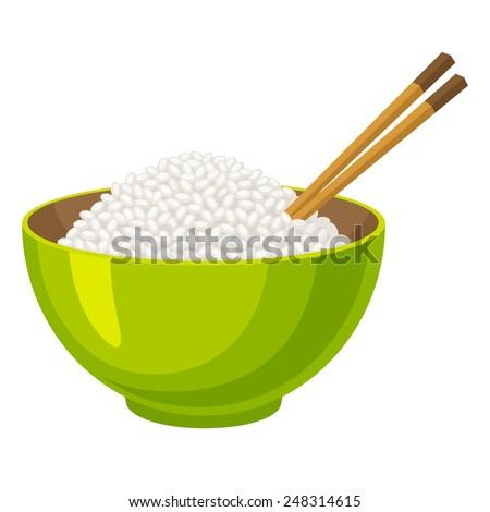 Rice - stock vector
