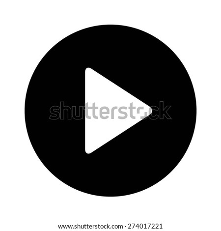 Right (next) directional arrow flat icon for apps and websites - stock vector
